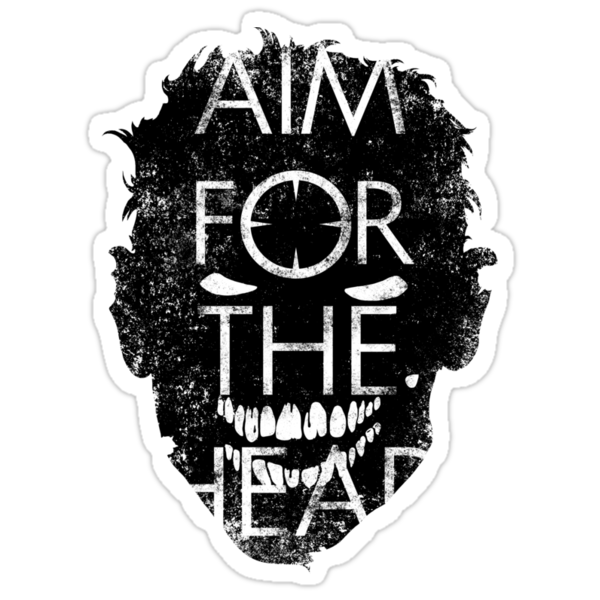 Zombie advice - AIM FOR THE HEAD by R-evolution GFX