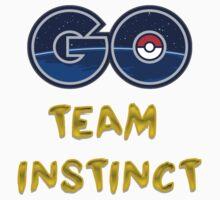 GO Team Instinct - Pokemon Go One Piece - Short Sleeve