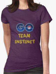 GO Team Instinct - Pokemon Go Womens Fitted T-Shirt