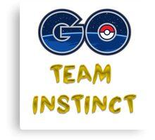 GO Team Instinct - Pokemon Go Canvas Print
