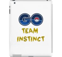 GO Team Instinct - Pokemon Go iPad Case/Skin