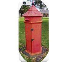 Halls Cottage Postbox iPhone Case/Skin