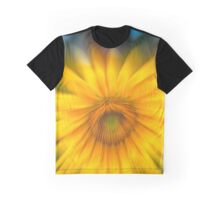 Sunflower with Blue Sky Graphic T-Shirt