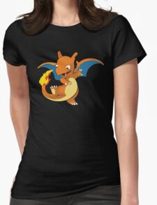 Baby Charizard Womens Fitted T-Shirt