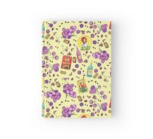 From Grape to Raisin to Wine Hardcover Journal