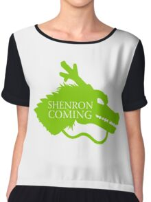 Shenron is Coming Chiffon Top