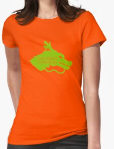 Shenron is Coming Womens Fitted T-Shirt