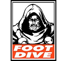 Dr. Doom Foot Dive Obey Design Photographic Print