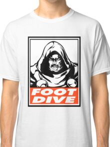 Dr. Doom Foot Dive Obey Design Classic T-Shirt