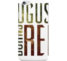 August Burn Red T-shirt - Music band shirt  iPhone Case/Skin
