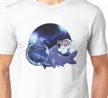 Astronaut Dude and his Shark Buddy Unisex T-Shirt