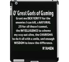 Great Gods of Gaming iPad Case/Skin