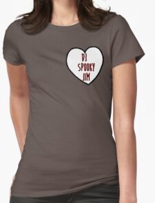 DJ Spooky Jim Womens Fitted T-Shirt