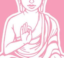 Buddha Cute Sticker