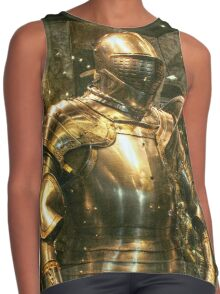 Suit of Armour Contrast Tank