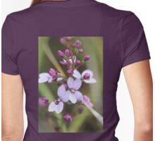 Violet Stylidium  Womens Fitted T-Shirt