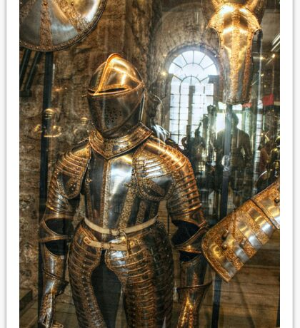 More Armour at the Tower Sticker