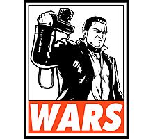 Frank West Wars Obey Design Photographic Print