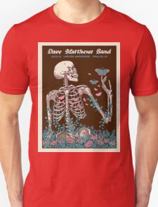 DAVE MATTHEWS BAND SUMMER TOUR 2016 LAKEVIEW AMPHITHEATRE-SYRACUSE,NEW YORK Unisex T-Shirt