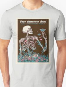 DAVE MATTHEWS BAND SUMMER TOUR 2016 LAKEVIEW AMPHITHEATRE-SYRACUSE,NEW YORK Unisex T-Shirt