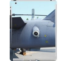 Attack helicopter rear view iPad Case/Skin