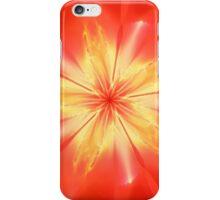 Red Apoflower iPhone Case/Skin
