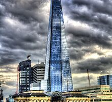 The Shard and H.M.S Belfast by DavidHornchurch