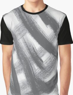 Brush Lines Graphic T-Shirt