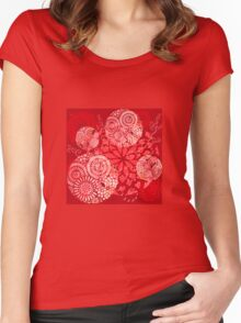 The Red Garden Women's Fitted Scoop T-Shirt