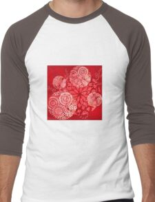 The Red Garden Men's Baseball ¾ T-Shirt