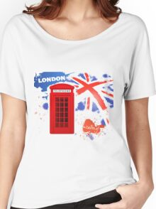 London Telephone Women's Relaxed Fit T-Shirt