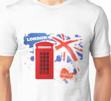 London Telephone B Unisex T-Shirt