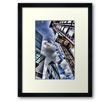 City of London Iconic Buildings Framed Print