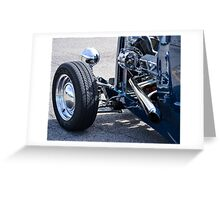 1932 Ford 5-Window Coupe Greeting Card