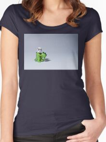 Embrace your wild side Women's Fitted Scoop T-Shirt