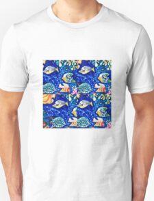 tiled fish Unisex T-Shirt