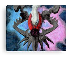 Pokemon Darkrai Watercolor Painting Canvas Print