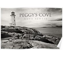 Lighthouse on Peggy's Cove Poster