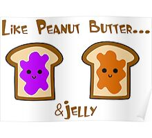 Peanut Butter & Jelly Lovers  Poster