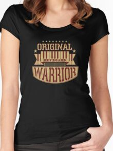 Keyboard Warrior Women's Fitted Scoop T-Shirt