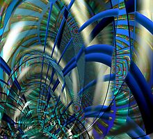Blue Fusion  by Elaine Bawden