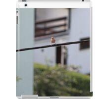Bird on the wire iPad Case/Skin
