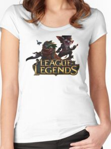 Kled and Skaarl - League of Legends Women's Fitted Scoop T-Shirt