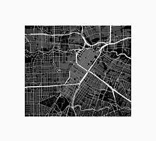 Houston Map - Black Unisex T-Shirt