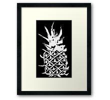 Love pineapple Framed Print