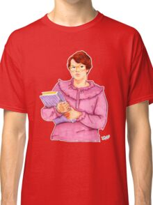 Barb from Stranger Things Portrait Classic T-Shirt