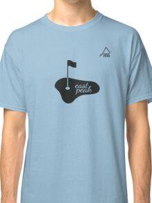 Golf - East Peak Apparel - 18th hole Print Classic T-Shirt