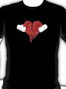 Kanye West 808s & Heartbreaks Deluxe Heart Art T-Shirt