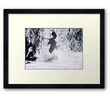 Dolce Vita (from the CineManArt series)  Framed Print
