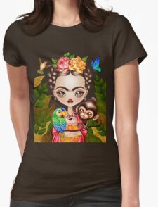Frida Querida Womens Fitted T-Shirt